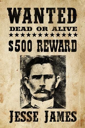 Jesse James - Wanted Advertisement
