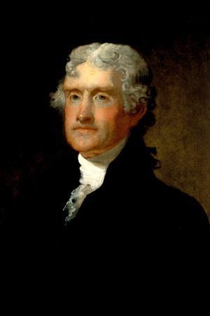 Matthew Harris Portrait of Thomas Jefferson Historical