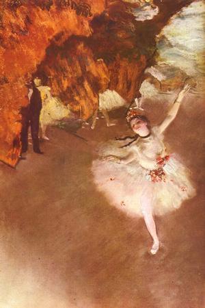Edgar Germain Hilaire Degas (The Prima Ballerina)