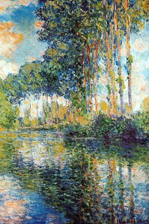 Claude Monet Poplars on the Epte