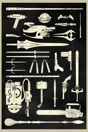 Tools of the Trade - Hero Weapons