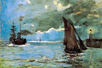 Claude Monet Seascape