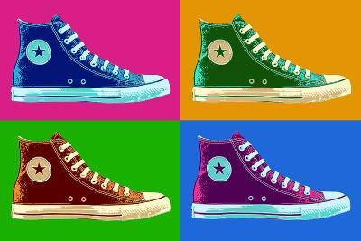 All Star Sneakers Pop Art