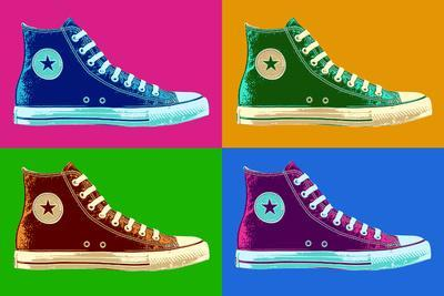 All Star Sneakers Pop Art