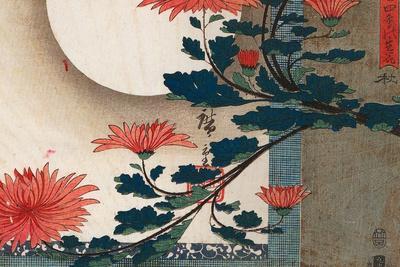 Utagawa Hiroshige Chrysanthemums