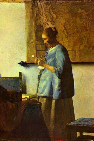 Johannes Vermeer The Letter Reader