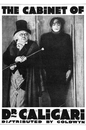 The Cabinet of Dr Caligari Movie Werner Krauss