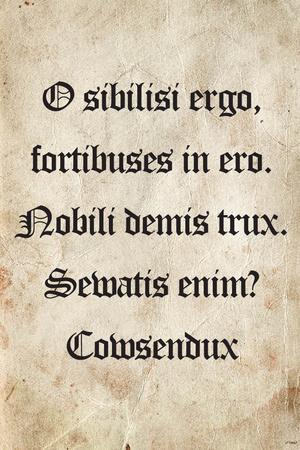 Latin Joke (Cowsendux)
