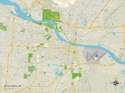 Political Map of Little Rock, AR