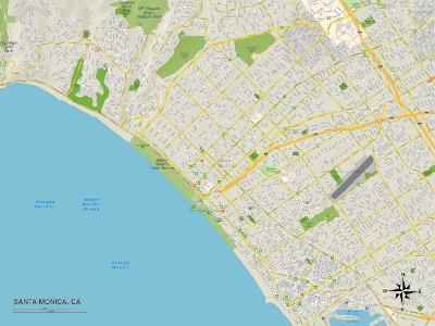 Political Map of Santa Monica, CA