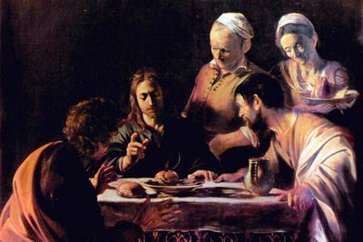 Michelangelo Caravaggio Emmaus