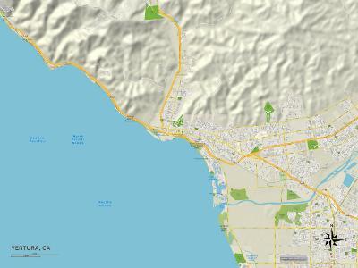 Political Map of Ventura, CA