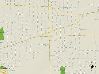Political Map of Bellwood, IL