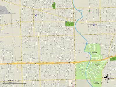 Political Map of Maywood, IL