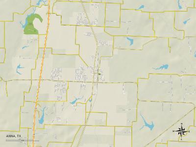 Political Map of Anna, TX