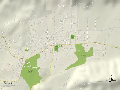 Political Map of Ojai, CA