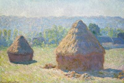 Haystacks, End of Summer by Claude Monet