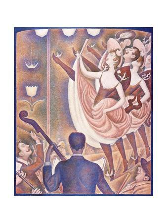 Le Chahut (The Can-Can) by Georges Seurat