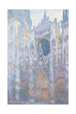 Rouen Cathedral, West Fa§Ade by Claude Monet