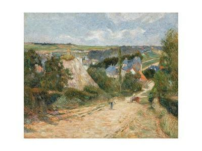 Entrance to the Village of Osny by Paul Gauguin