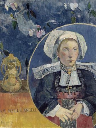 La Belle Ang¨Le (Beautiful Angel) by Paul Gauguin