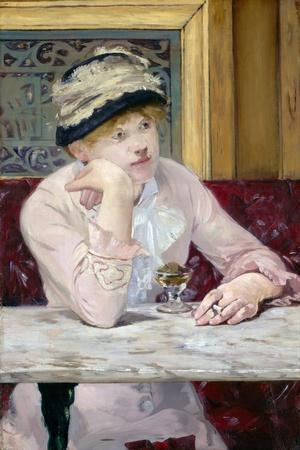Plum Brandy by ‰Douard Manet