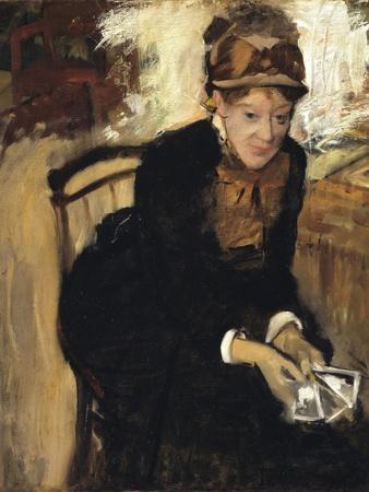 Mary Cassatt by Edgar Degas