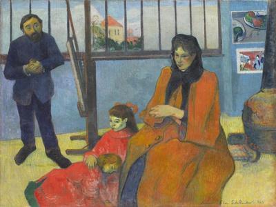 L'atelier De Schuffenecker (Schuffenecker's Studio) by Paul Gauguin