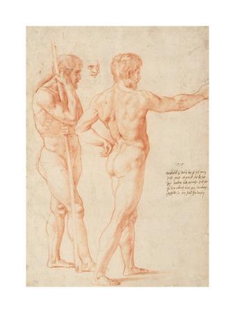 Nude Studies by Raphael