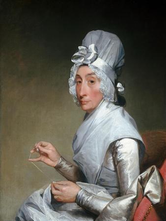 Catherine Brass Yates (Mrs. Richard Yates) by Gilbert Stuart