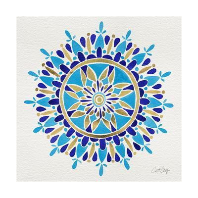 Mandala in Navy and Gold– Cat Coquillette