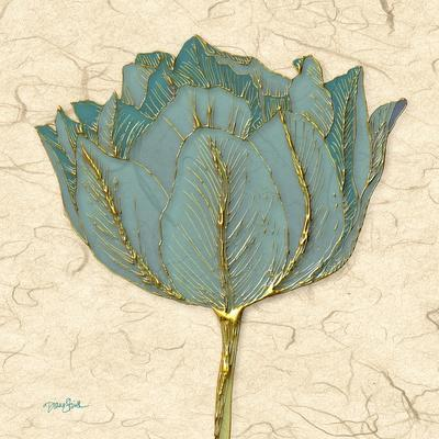 Muted Teal Tulip 1