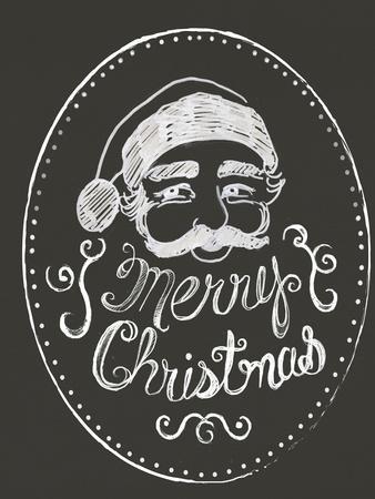 Santa in Chalk