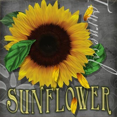 Sunflowers Chalkboard