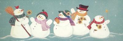 Group of Snowmen