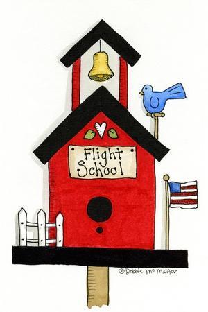 Flight School Birdhouse