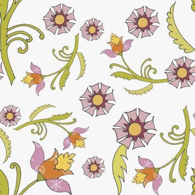 Pattern Lilac Flowers