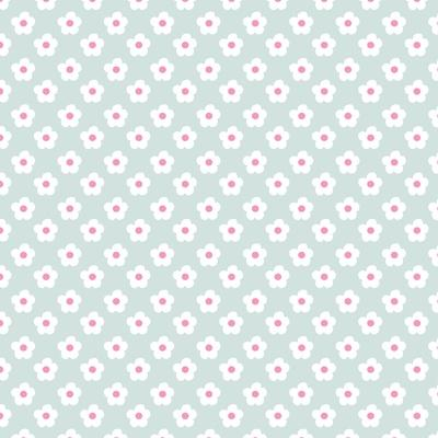 Pattern Snow Daisies