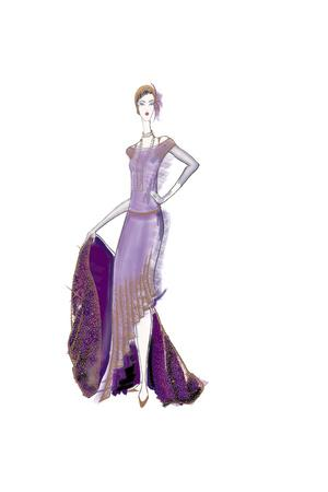 Girl Purple Dress