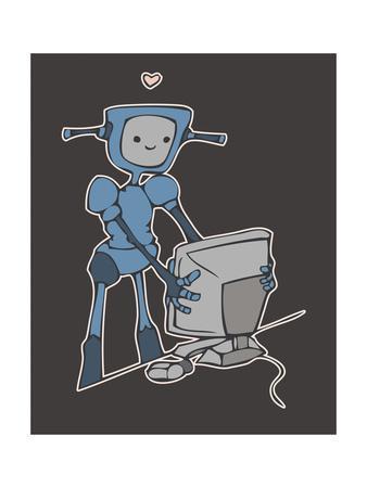 Robot, Computer, Love