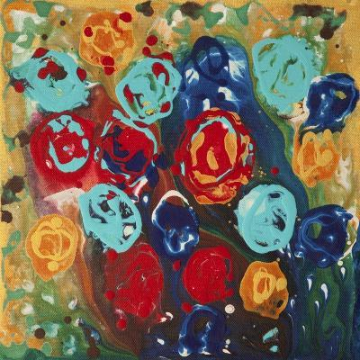 Abstract Flowers 3 - Canvas 1