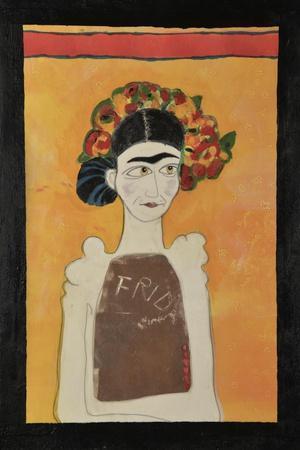 Frida Kahlo White