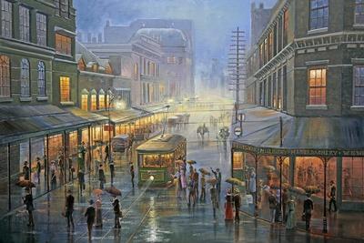 A Wet Evening - Sydney