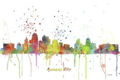 Kansas City Missouri Skyline MCLR 1