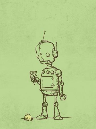 Robot Icecream