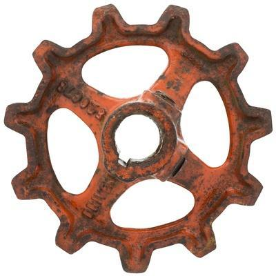 Red Wide Tooth Gear
