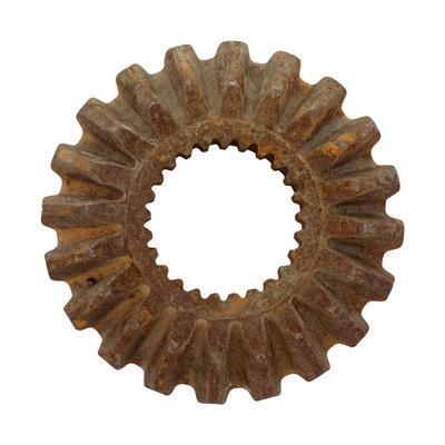Rusty Long Tooth Gear