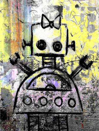 Girl Robot Color