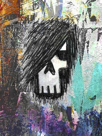 Graffiti Sketch Skull