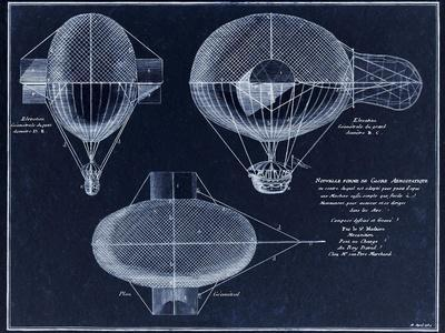 French Airship Balloon 1784